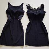 Очень красивое черное платье.р-36.