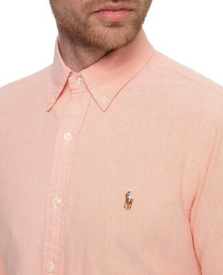 Рубашка от Ralph Lauren. Оригинал. Размер хл. Идет полуприталенная. Натуральная ткань, состав 100 %