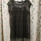Вечернее нарядное платье - сетка 2 в 1 от George Англия