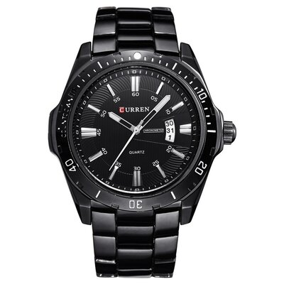 Мужские Наручные Часы Curren 8110 Black