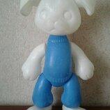 Кукла игрушка Ссср Собака 4 полиэтилен 45 см на резинках клеймо цена