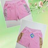 Качественные летние плотные шорты для девочек