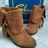 Брендовые ботинки сапожки Sbicca 37 размер оригинал usa
