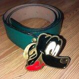 Ремень зелёный Goofy, Disney