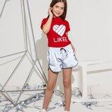 Комплект шорты футболка Likee
