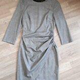 Платье в клетку ZARA с оригинальным дизайном