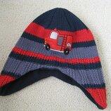 Теплая шапка на флисовой подкладке George 3-4г