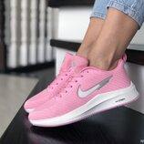 Кроссовки женские Nike Flyknit Lunar 3, розовые