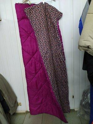 Спальный мешок длина 185см. Ширина 155см.идеальное состояние, очень теплый зимний