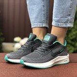 Кроссовки женские Nike Flyknit Lunar 3, серый