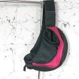 Сумка переноска для собаки, котов до 3 кг через плечо нагрудная слинг розовый