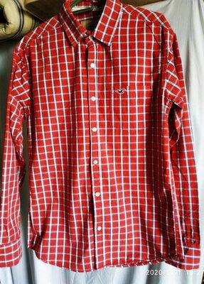 Мужская рубашка размер L Hollister California