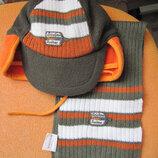 Польский осенний комплект Mariquita шапка шарф