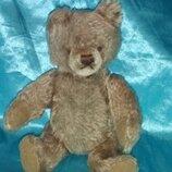 шикарный винтажный классический Мишка Медведь Штайфф Steiff Германия оригинал мохер 24 см