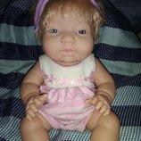 миленькая анатомическая толстушка блондинка Ani Berenguer JC Toys Испания оригинал клеймо 33 см