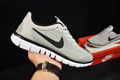 Кроссовки мужские Nike Free Run 3.0 серые