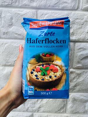 Овсянка Nordwaldtaler Zarte Haferflocken, 500гр. Германия