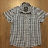 Рубашка Rebel мальчику 9-10лет,р.140,хлопок,Бангладеш