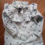 Продам рубашечка некст на малышку