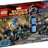 LEGO Super Heroes Marvel Человек-Паук против Доктора Осьминога 6873