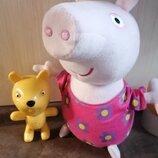 Итеративный набор свинка Пеппа и Тедди играют в прятки оригинал.