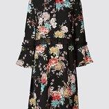 Очаровательное платье в цветочный принт marks & spence