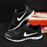 мужские кроссовки Nike Free Run 3.0 черные