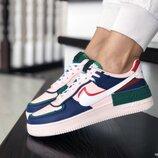 Кроссовки женские Nike Air Force, разноцвет
