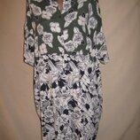 Свободное вискозное платье John Lewis р-рS