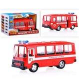 Автобус пожарная служба Автопарк Play Smar