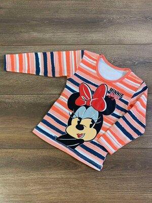 Детская трикотажная футболка с длинным рукавом кофточка кофта джемпер