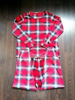 Размер L Яркая фирменная тоненькая пушистая пижама домашний костюм