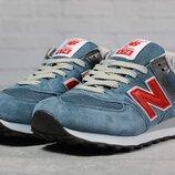Кроссовки мужские New Balance 574, голубые