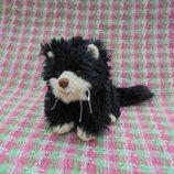 Игрушка мягкая черная кошка от Bukowski Design, длина 15см