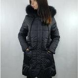 Куртка Зима Р-Ры 44 46 48 Вашему вниманию представлена оригинальная удлиненная куртка расклешенно