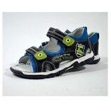 Босоножки кожа 27-32 супинатор жесткий задник для мальчика лето летняя обувь босоніжки хлопчик