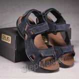 Кожаные сандалии Ecco Yak Biom Denim
