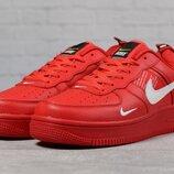 Кроссовки мужские Nike Air Force, красные