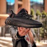 Кроссовки Adidas Yeezy Boost 350.Купить черные адидас изи в Украине.