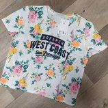 Новинки 2020 стильный топ майка футболка H&M девочкам