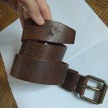 Ремень пояс кожаный cowboys belt оригинал голландия