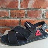 Кожаные мужские летние сандалии Reebok большого размера 46, 47, 48, 49, 50