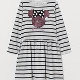 платье паетки перевертыши H&M на 6-8 л. и 8-10 лет.