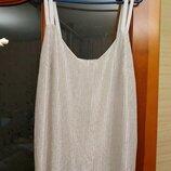 Шикарная нарядная блузка-майка от next р.xxl-xxxl