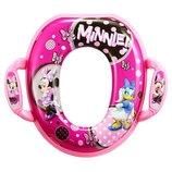 The First Years мягкая накладка на унитаз Минни Маус disney baby minnie soft potty seat