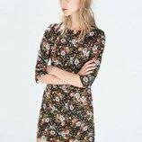Очень красивое платье от Zara рр 16 наш 50