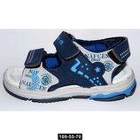 Спортивные сандалии для мальчика Том.м, 21-26 размер, супинатор, кожаная стелька, 109-55-70