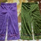 Велюрові штани marks&spenser 1. 5-2роки