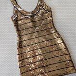 Плаття платье с паетками сукня hedkandi
