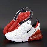 Мужские кроссовки Nike Air Max 270. White Red